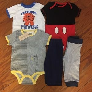 Bundle of Baby Boy Summer Clothes 6-9 Months